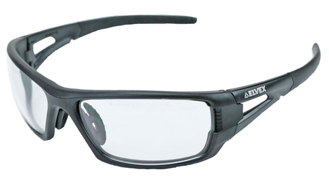 Image of Elvex Delta Plus RimFire Safety/Shooting/Tactical Glasses Clear Anti Fog Lens