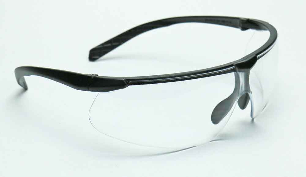Elvex Delta Plus Helium 20 Safety Glasses Clear Anti-Fog Lens