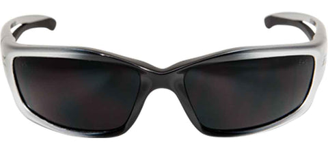 Image of Edge Eyewear Kazbek Safety/Sun Glasses Smoke Lens Ballistic SK116 Z87.1