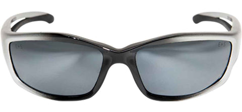 Image of Edge Eyewear Kazbek Safety/Sun Glasses Silver Mirror Lens Ballistic SK117 Z87.1