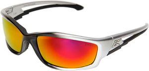Edge Eyewear Kazbek Safety/Sun Glasses Precision Red Lens Ballistic SKAP119 Z87