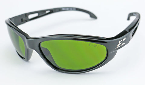 Image of Edge Eyewear Dakura Safety Glasses IR Green Shade Welding Lens