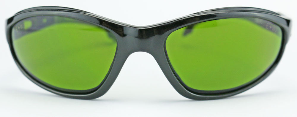 Edge Eyewear Dakura Safety Glasses IR Green Shade Welding Lens