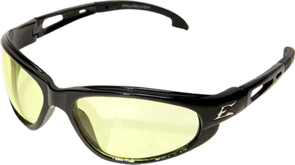 Edge Eyewear Dakura Safety Glasses Yellow Vapor Shield Anti Fog Lens SW112VS