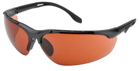 Elvex Delta Plus Sphere X Ultimate™ Sun Safety Shooting Glasses Copper Blue Blocker Ballistic Rated