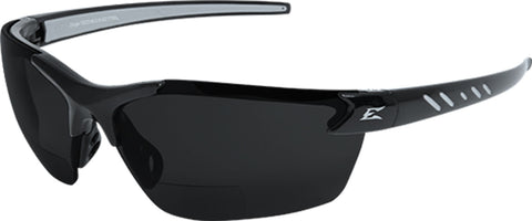 Image of Edge Eyewear Zorge G2 Bifocal Safety/Reading Glasses Gray Lens 2.0 Magnifier