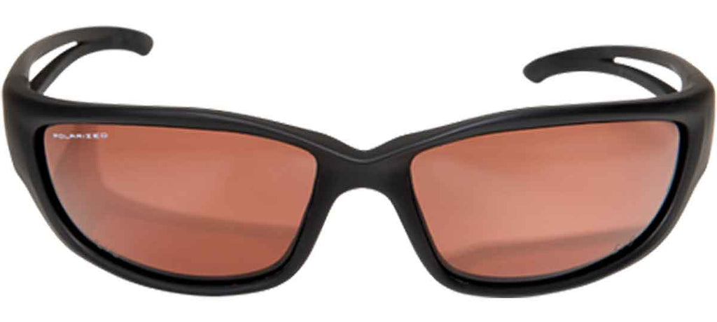 Edge Eyewear Kazbek XL Extra Wide Safety Glasses Polarized Copper Lens TSKXL215