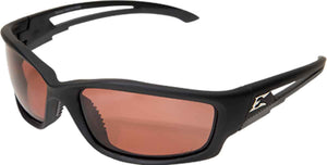 Edge Eyewear Kazbek Safety/Sun Glasses Polarized Copper Driving Lens TSK215