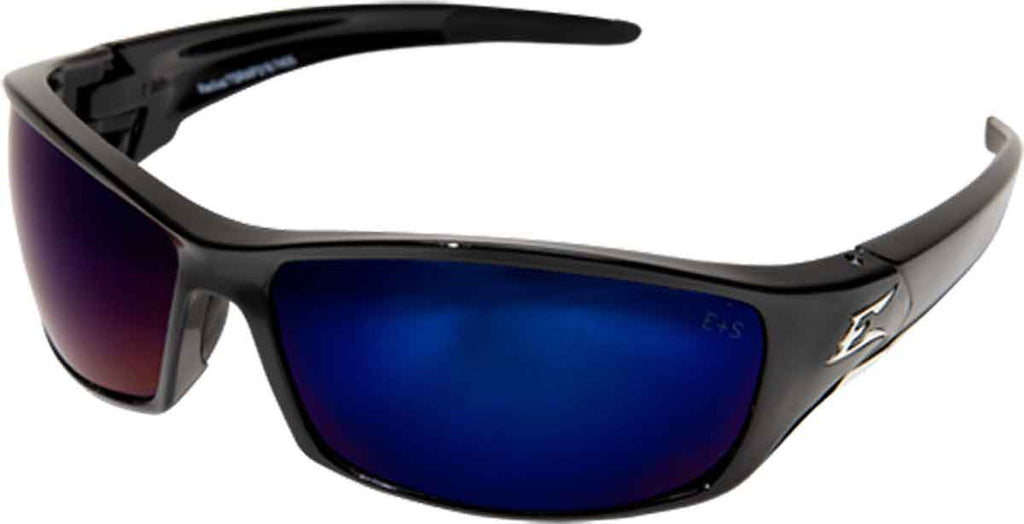 Edge Eyewear Reclus Safety/Sun Glasses Polarized Aqua Precision Blue TSRAP218