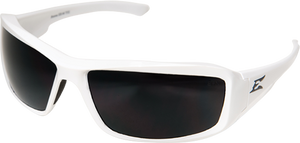Edge Eyewear Brazeau  Safety/Sun Glasses White/Gray Polarized Lens XB246 Z87.1