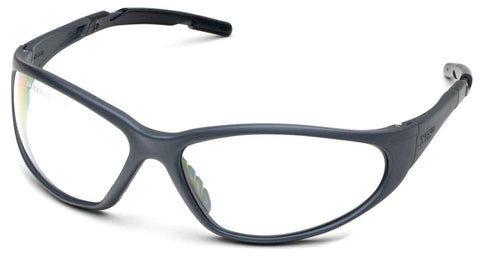Image of Elvex Delta Plus XTS™ Safety/Tactical/Shooting Glasses Clear Lens/Black Frame
