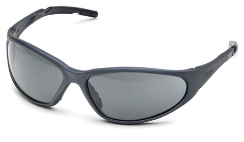 Image of Elvex Delta Plus XTS Safety/Motorcycle/Sun/Shooting/Tactical Glasses Gray Lens/Black Z87.1