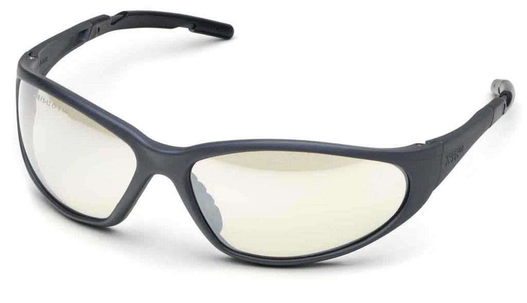 Elvex Delta Plus  XTS™ Safety/Tactical/Shooting Glasses Indoor/Outdoor Lens/Black Frame