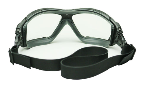 Elvex Delta Plus Chemical Safety Goggles Anti Fog, Scratch Resistant, Mist & Splash Z87+D3