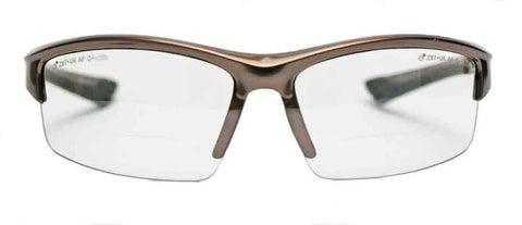 Image of Elvex Delta Plus Sonoma™ RX350™ Bifocal Safety/Reading Glasses Clear 1.0 to 3.0 Mag Z87.1