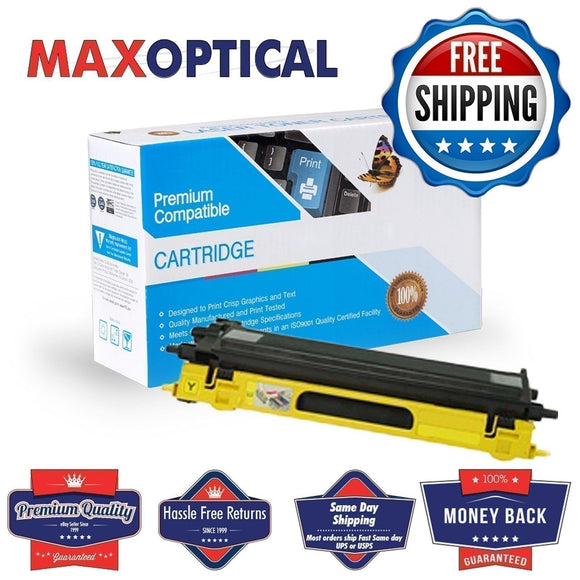 Max Optical For Brother TN115Y Compatible Yellow Toner Cartridge
