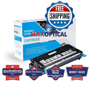 Max Optical Dell 310-8094 Compatible Cyan High Capacity Toner Cartridge,