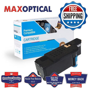 FREE Shipping  Dell 593-BBJU Compatible Toner- Cyan