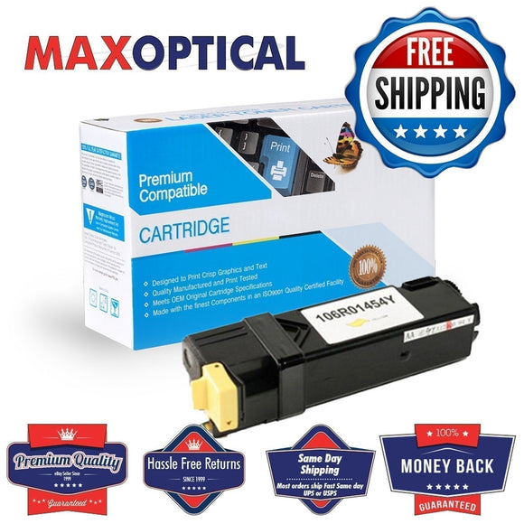Max Optical for Xerox Phaser 6128, 106R01454 Compat Yellow Toner Cart