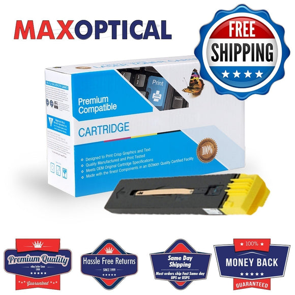 ? FREE Shipping  for Xerox 006R01526 Compatible Yellow Toner Cartridge