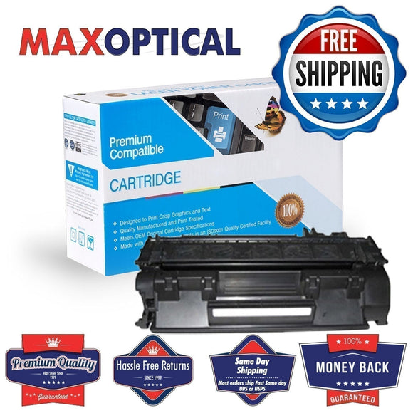 Max Optical For HP CE505X Compatible Black MICR Toner Cartridge