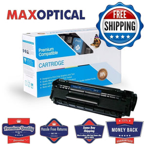 FREE Shipping For HP Q2612X Compatible High Yield Toner Cartridge- Black