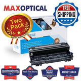 Max Optical 2Pack For Brother DR510 Compatible Black Imaging Drum