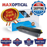 Max Optical 2Pack For Brother TN550/TN580 Hi-Yield Compatible Black Toner Jumbo