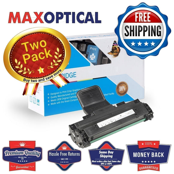 ? FREE Shipping Max Optical 2Pack Dell 310-6640 Compatible Black Toner Cartridge