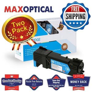 ??  2Pack Dell 330-1437 Compatible Cyan Toner Cartridge