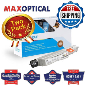 Max Optical 2Pack Dell 5110 Hi- Yield Compatible Black Toner
