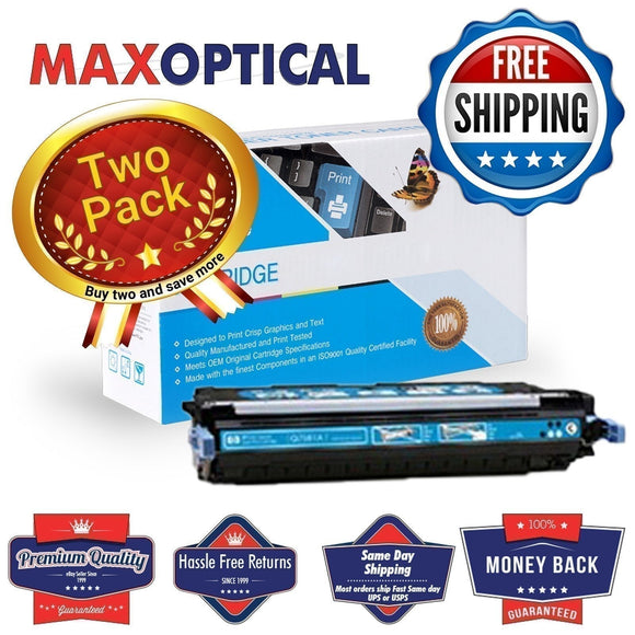 ??  2Pack For HP Q7581A Compatible Cyan Toner Cartridge