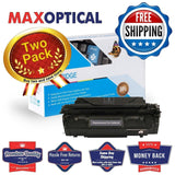 Max Optical 2Pack Canon L50 Remanufactured Black Toner Cartridge