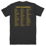 District One Championships Short sleeve soft t-shirt
