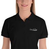Sarah Dane Photography Embroidered Women's Polo Shirt