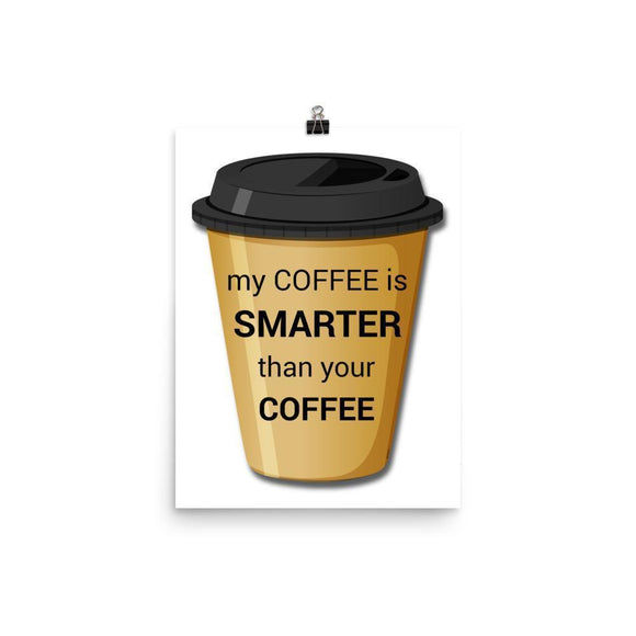 Smart Coffee Poster