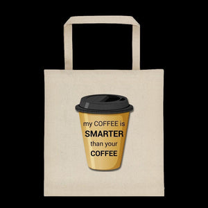 Smart Coffee Tote bag
