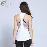 Women Loose Vest Singlet for Fitness Sport