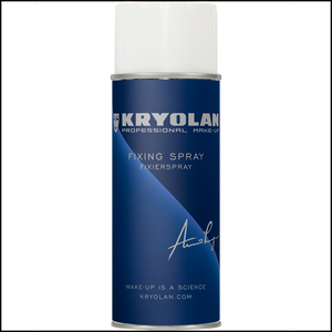 Kryolan Professional Fixing Spray-Setting Sprays & Sealers-Kryolan-400ml-The Theatrical Make Up Store