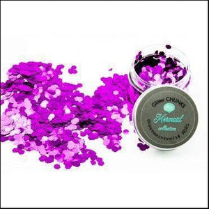 Mermaid Collection Glitter Chunks-Glitter-Treasure Make-Up-(22)Pebbles-The Theatrical Make Up Store