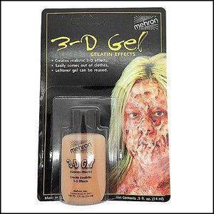 Mehron 3D Gel-SFX Make Up-Mehron-The Theatrical Make Up Store