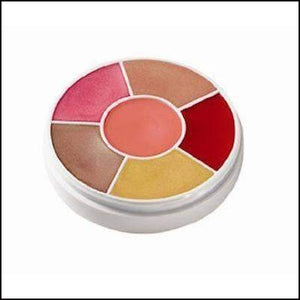 Ben Nye Professional Lip Gloss Wheel 6 Colours, Lip Glosses, Lip Make Up-Lip Gloss-Ben Nye-The Theatrical Make Up Store