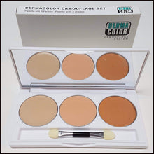 Kryolan DermaColor 3 Colour Camouflage Set-Concealers-Kryolan-The Theatrical Make Up Store