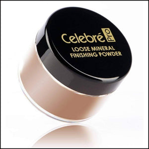 Celebre HD Loose Mineral Finishing Powder-Face Powders-Mehron-Sienna-The Theatrical Make Up Store