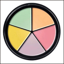 Mehron Neutalizer Ring. Procoloring 5 Colours-Concealer-Mehron-The Theatrical Make Up Store