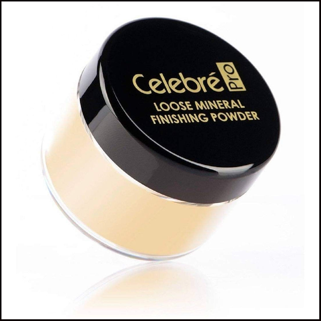 Celebre HD Loose Mineral Finishing Powder-Face Powders-Mehron-Medium/Dark-The Theatrical Make Up Store
