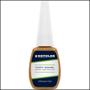 Kryolan Tooth Enamel SFX Fancy Dress Party-Tooth Enamel-Kryolan-Brown-The Theatrical Make Up Store