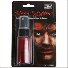 Mehron Blood Splatter Spray 30ml-Bloods-Mehron-The Theatrical Make Up Store