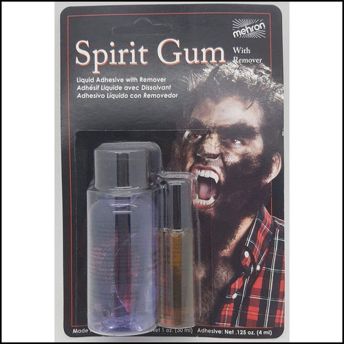 Mehron Spirit Gum & Remover. Carded Set-Spirit Gums & Removers-Mehron-The Theatrical Make Up Store