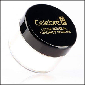 Celebre HD Loose Mineral Finishing Powder-Face Powders-Mehron-Transluscent-The Theatrical Make Up Store